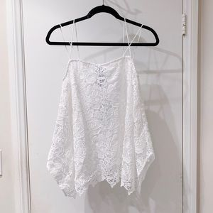 NWT Chico's Double Strap Lace Tank Top